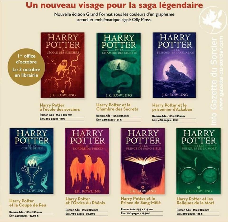 Harry Potter Infos Reeditions Nouveautes On Fait Le